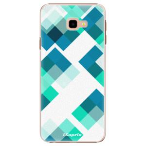 Plastové pouzdro iSaprio Abstract Squares 11 na mobil Samsung Galaxy J4 Plus