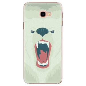 Plastové pouzdro iSaprio Naštvanej Medvěd na mobil Samsung Galaxy J4 Plus