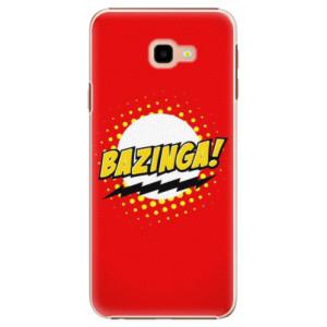 Plastové pouzdro iSaprio Bazinga 01 na mobil Samsung Galaxy J4 Plus