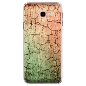 Plastové pouzdro iSaprio Rozpraskaná Zeď 01 na mobil Samsung Galaxy J4 Plus