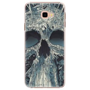 Plastové pouzdro iSaprio Abstract Skull na mobil Samsung Galaxy J4 Plus