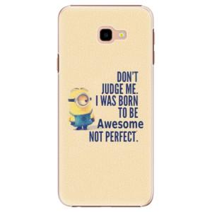 Plastové pouzdro iSaprio Be Awesome na mobil Samsung Galaxy J4 Plus