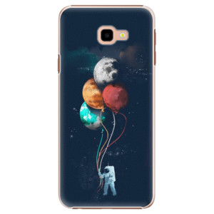 Plastové pouzdro iSaprio Balónky 02 na mobil Samsung Galaxy J4 Plus