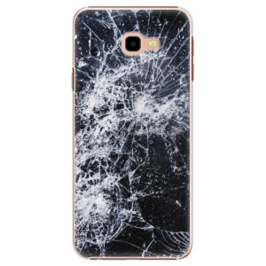 Plastové pouzdro iSaprio Praskliny na mobil Samsung Galaxy J4 Plus
