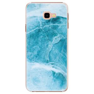 Plastové pouzdro iSaprio Blue Marble na mobil Samsung Galaxy J4 Plus