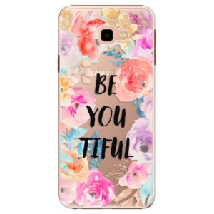 Plastové pouzdro iSaprio BeYouTiful na mobil Samsung Galaxy J4 Plus