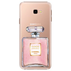 Plastové pouzdro iSaprio Chanel Rose na mobil Samsung Galaxy J4 Plus