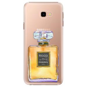Plastové pouzdro iSaprio Chanel Gold na mobil Samsung Galaxy J4 Plus