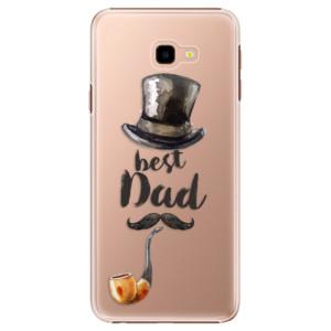 Plastové pouzdro iSaprio Best Dad na mobil Samsung Galaxy J4 Plus