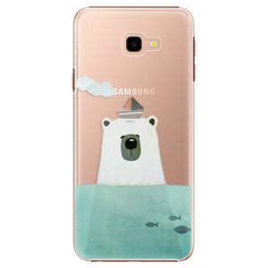 Plastové pouzdro iSaprio Medvěd s Lodí na mobil Samsung Galaxy J4 Plus
