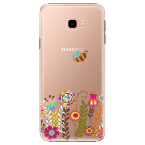 Plastové pouzdro iSaprio Včelka Pája 01 na mobil Samsung Galaxy J4 Plus