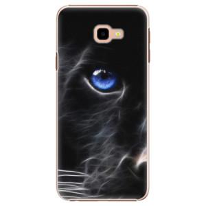Plastové pouzdro iSaprio Black Puma na mobil Samsung Galaxy J4 Plus