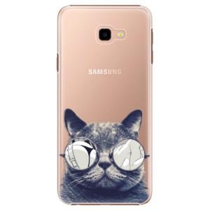 Plastové pouzdro iSaprio Šílená Číča 01 na mobil Samsung Galaxy J4 Plus