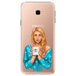 Plastové pouzdro iSaprio Coffee Now Zrzka na mobil Samsung Galaxy J4 Plus