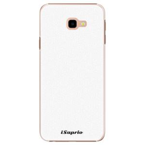 Plastové pouzdro iSaprio 4Pure bílé na mobil Samsung Galaxy J4 Plus