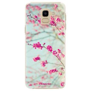Plastové pouzdro iSaprio Blossom 01 na mobil Samsung Galaxy J6