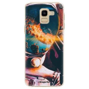 Plastové pouzdro iSaprio Astronaut 01 na mobil Samsung Galaxy J6