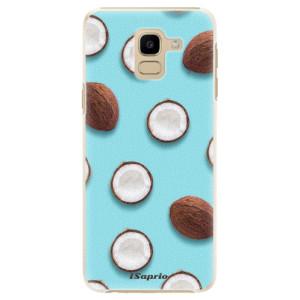Plastové pouzdro iSaprio Kokos 01 na mobil Samsung Galaxy J6