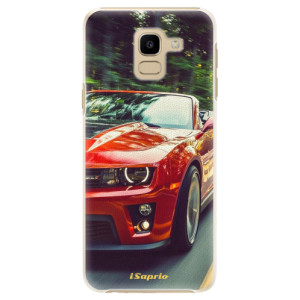 Plastové pouzdro iSaprio Chevrolet 02 na mobil Samsung Galaxy J6