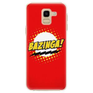 Plastové pouzdro iSaprio Bazinga 01 na mobil Samsung Galaxy J6