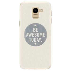 Plastové pouzdro iSaprio Awesome 02 na mobil Samsung Galaxy J6