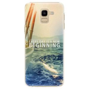 Plastové pouzdro iSaprio Beginning na mobil Samsung Galaxy J6