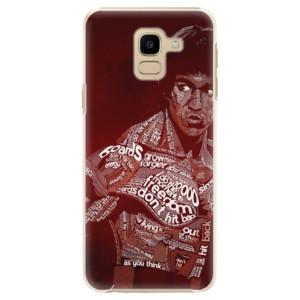 Plastové pouzdro iSaprio Bruce Lee na mobil Samsung Galaxy J6