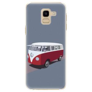 Plastové pouzdro iSaprio VW Bus na mobil Samsung Galaxy J6