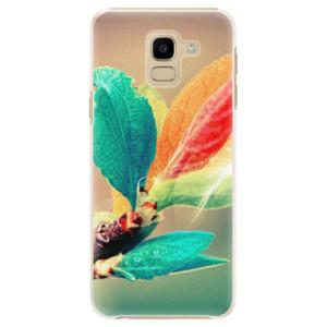 Plastové pouzdro iSaprio Podzim 02 na mobil Samsung Galaxy J6