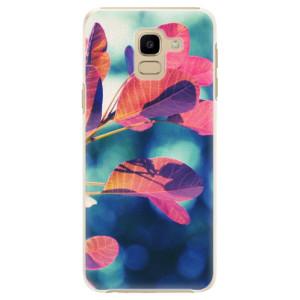 Plastové pouzdro iSaprio Podzim 01 na mobil Samsung Galaxy J6