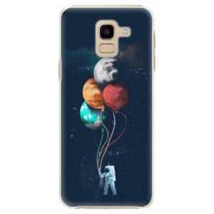 Plastové pouzdro iSaprio Balónky 02 na mobil Samsung Galaxy J6