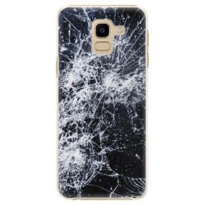 Plastové pouzdro iSaprio Praskliny na mobil Samsung Galaxy J6