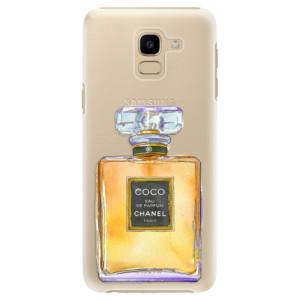 Plastové pouzdro iSaprio Chanel Gold na mobil Samsung Galaxy J6