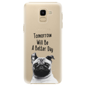Plastové pouzdro iSaprio Better Day 01 na mobil Samsung Galaxy J6