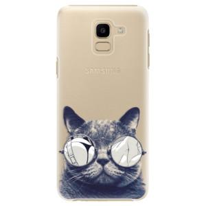 Plastové pouzdro iSaprio Šílená Číča 01 na mobil Samsung Galaxy J6