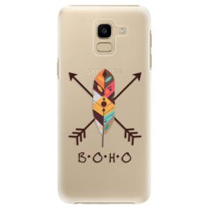 Plastové pouzdro iSaprio BOHO na mobil Samsung Galaxy J6