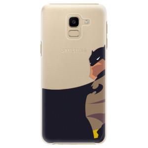 Plastové pouzdro iSaprio BaT Komiks na mobil Samsung Galaxy J6