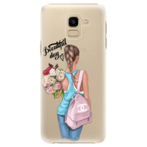 Plastové pouzdro iSaprio Beautiful Day na mobil Samsung Galaxy J6