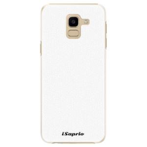 Plastové pouzdro iSaprio 4Pure bílé na mobil Samsung Galaxy J6