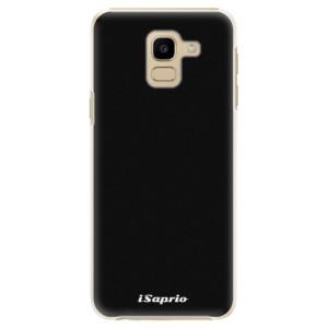 Plastové pouzdro iSaprio 4Pure černé na mobil Samsung Galaxy J6