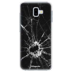 Plastové pouzdro iSaprio Broken Glass 10 na mobil Samsung Galaxy J6 Plus
