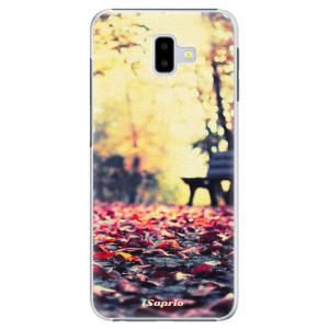 Plastové pouzdro iSaprio Bench 01 na mobil Samsung Galaxy J6 Plus