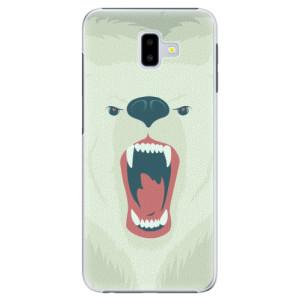 Plastové pouzdro iSaprio Naštvanej Medvěd na mobil Samsung Galaxy J6 Plus