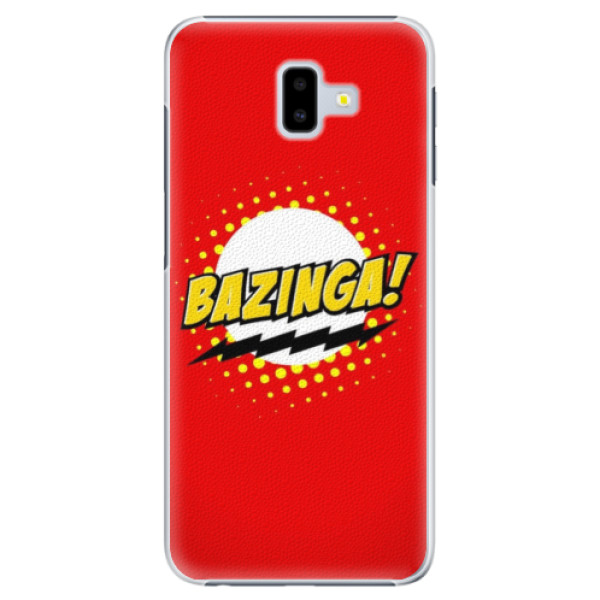 Plastové pouzdro iSaprio Bazinga 01 na mobil Samsung Galaxy J6 Plus