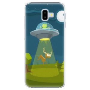 Plastové pouzdro iSaprio Ufouni 01 na mobil Samsung Galaxy J6 Plus