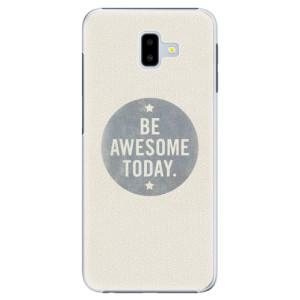 Plastové pouzdro iSaprio Awesome 02 na mobil Samsung Galaxy J6 Plus