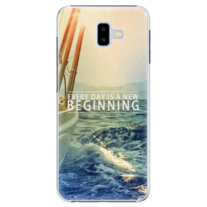Plastové pouzdro iSaprio Beginning na mobil Samsung Galaxy J6 Plus