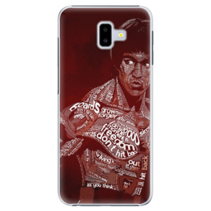 Plastové pouzdro iSaprio Bruce Lee na mobil Samsung Galaxy J6 Plus