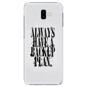 Plastové pouzdro iSaprio Backup Plan na mobil Samsung Galaxy J6 Plus