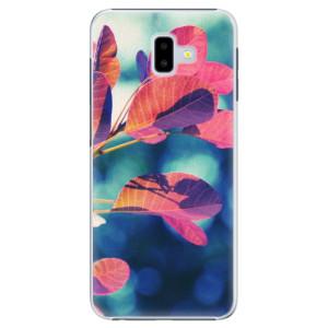 Plastové pouzdro iSaprio Podzim 01 na mobil Samsung Galaxy J6 Plus